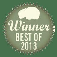 winner of the hippo best 2013 - reader's picks