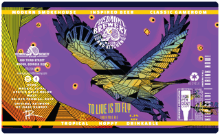 To Live is to Fly American IPA