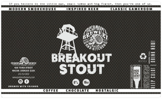 Breakout Stout (Jailhouse Brewing Collabroation)
