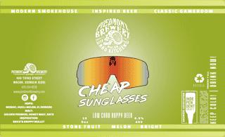 Cheap Sunglasses Low Cal Hoppy Beer