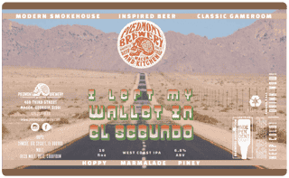 I Left My Wallet In El Segundo West Coast IPA