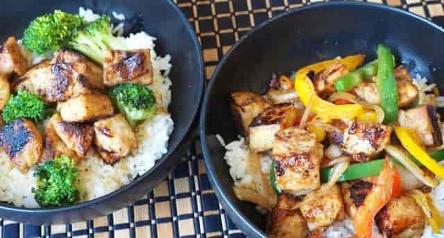 SOJ - Entree Meat Rice Vegetables