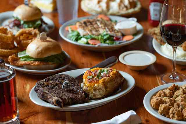 steakhouse dishes