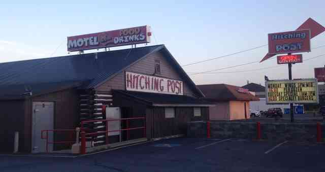 Exterior of The Hitching Post
