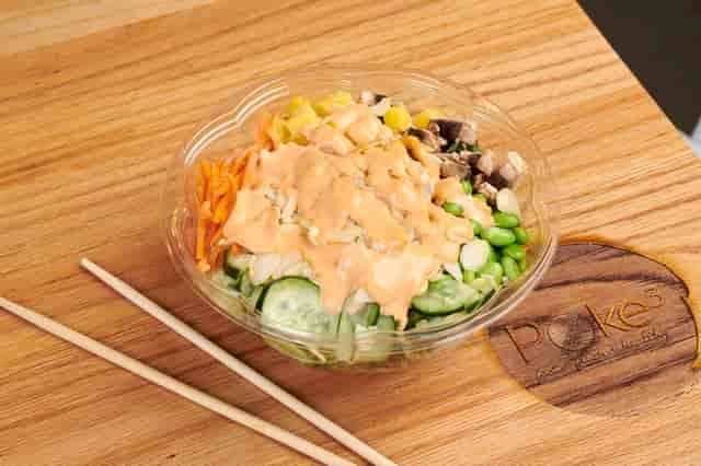 shrimp veggie bowl