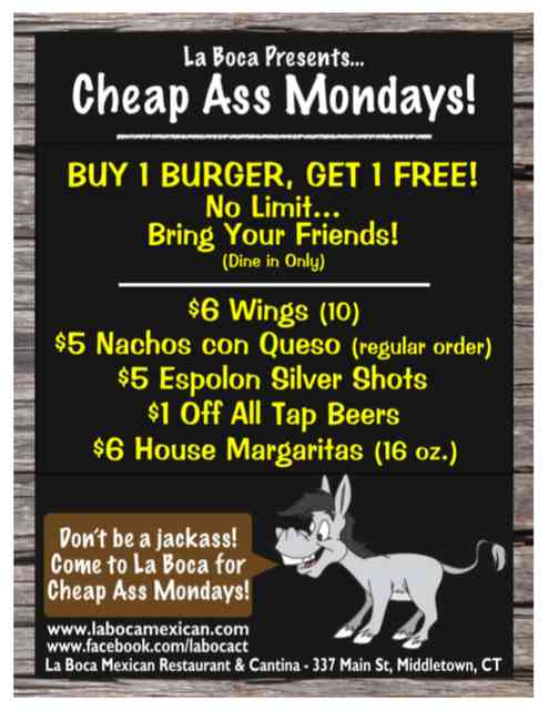 Cheap A$$ Mondays