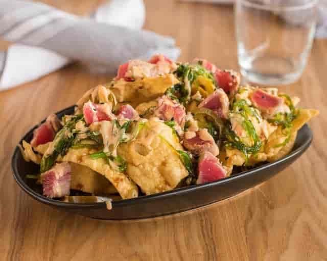 tuna nacho