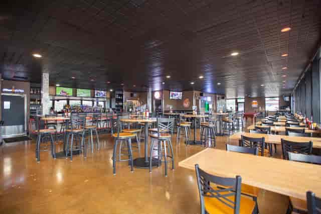 big dining area