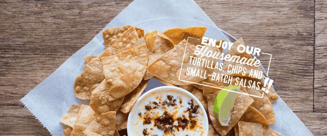 tortilla chip banner