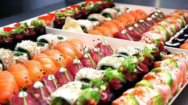 catered sushi