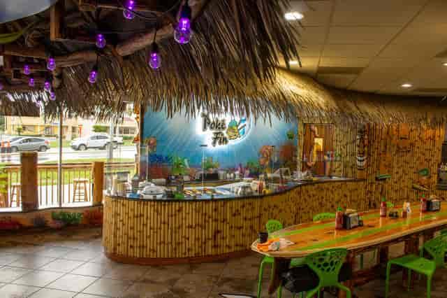 interior tiki bar