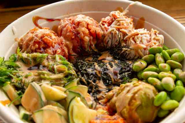 spicy tuna bowl