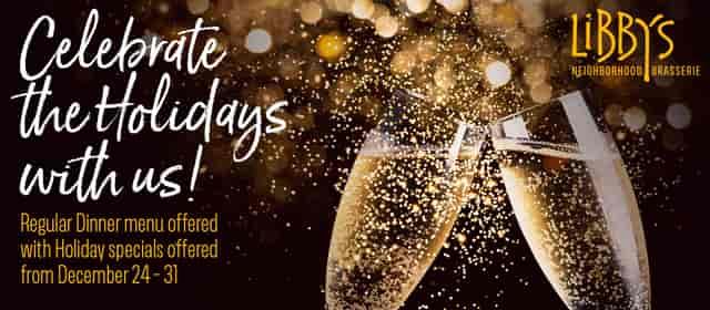 Special A la la la Carte Holiday 2019 Menu