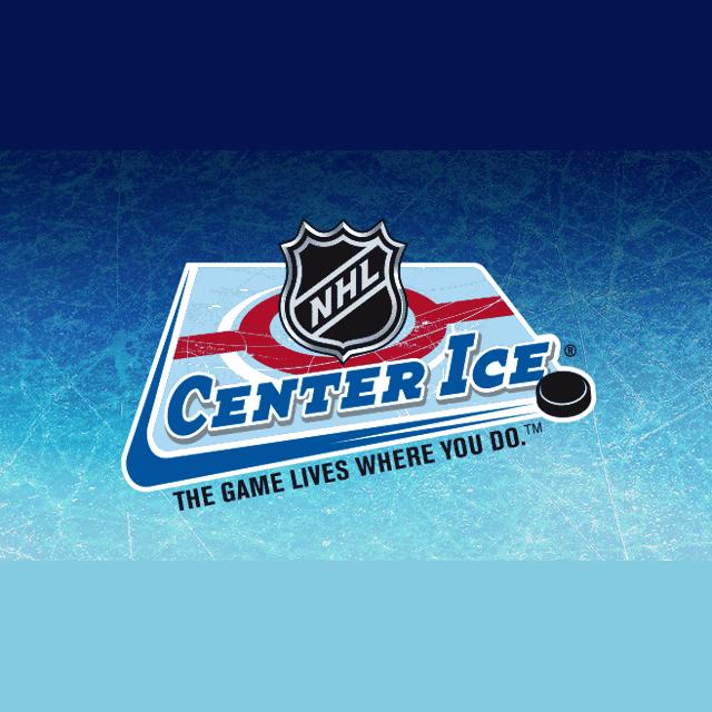 center ice nhl