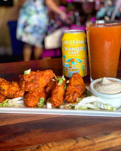 Sundays are for wings and bloodys