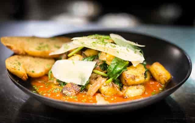 plated dish