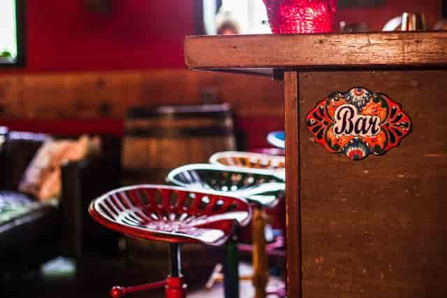 mission cantina bar area