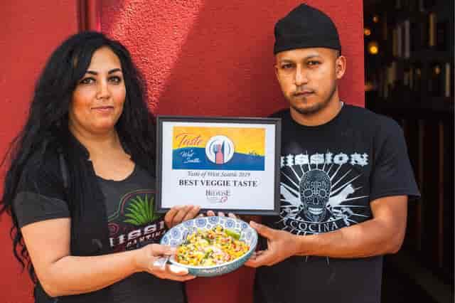 taste of west seattle 2019, best veggie taste aware