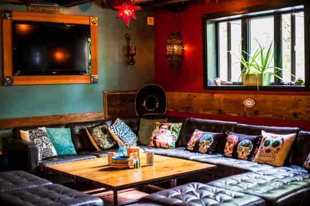 interior bar seating