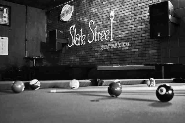 Slate Street billiards table