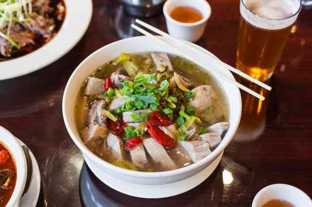 Chinese duck soup