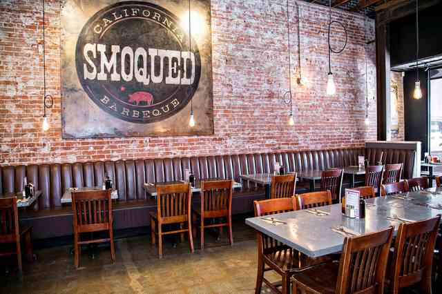 smoqued interior