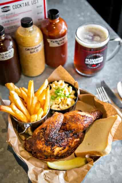 half chicken plate