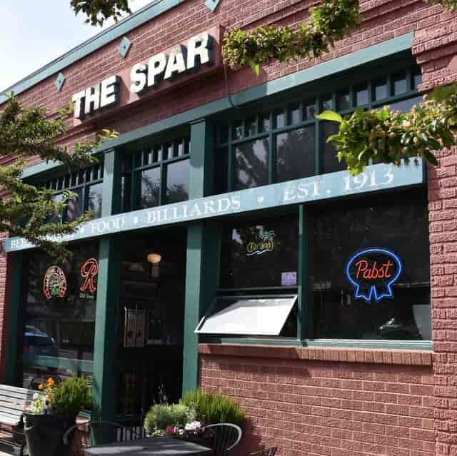 The Spar Exterior