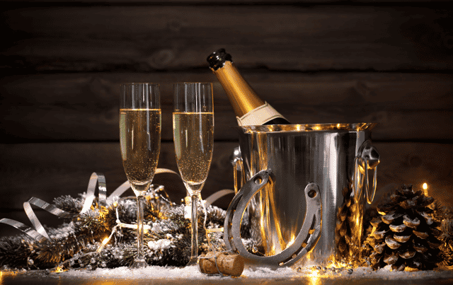 New Year's Eve Celebration at home