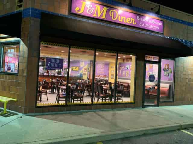 J&M Diner Storefront