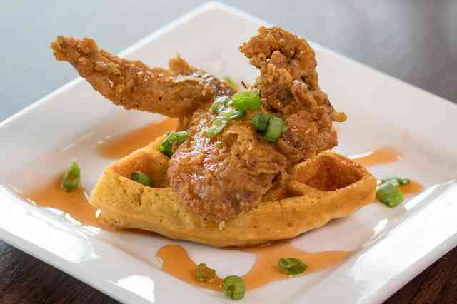 chicken and waffle