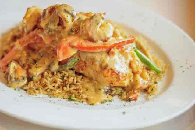 Christie's Seafood Salmon Royal Houston Galleria