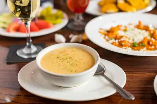 Shrimp Chowder Soup Christie's Seafood Houston Galleria