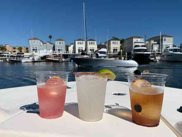 Cocktails at The Dock