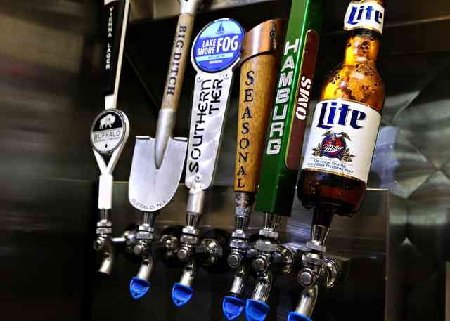 Ask your server about our craft beer selections