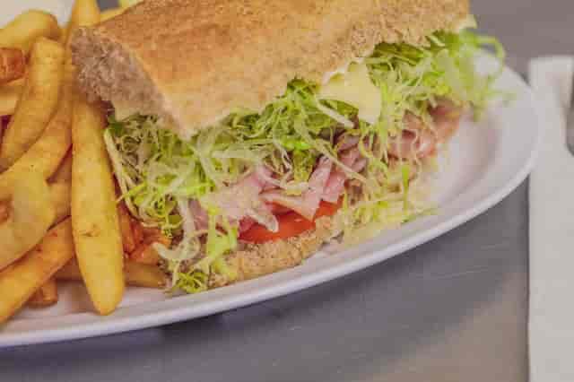 half sandwich combo