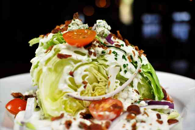 the missing piece salad