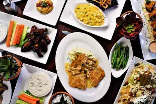 variety of food smyrna
