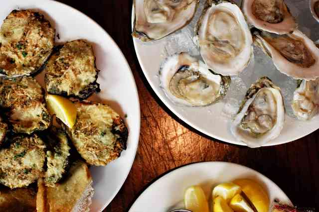 oysters smyrna
