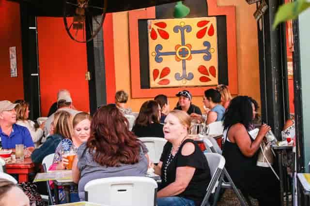 Outdoor Dining at Margarita Grill