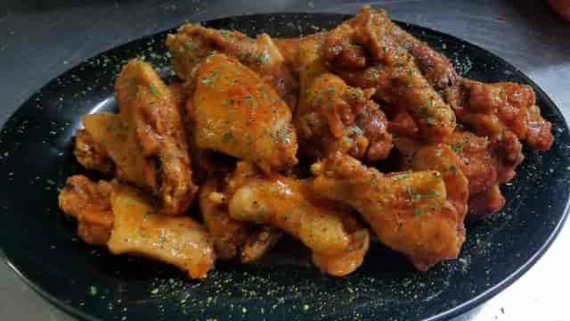 plate of wings