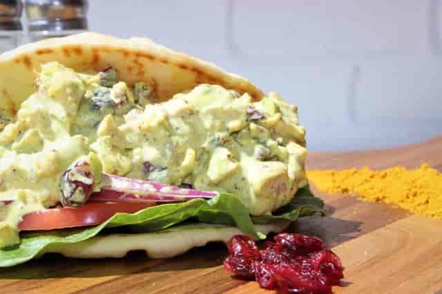 potato salad pita