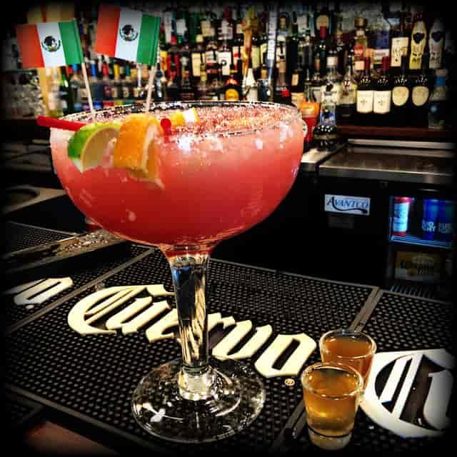 Grande Cadillac Strawberry Margarita