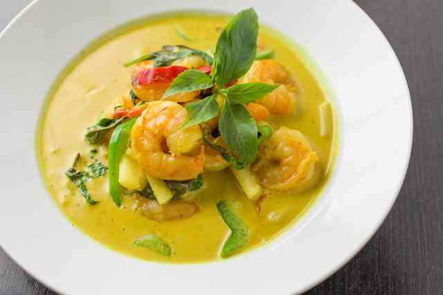 southern curry prawn