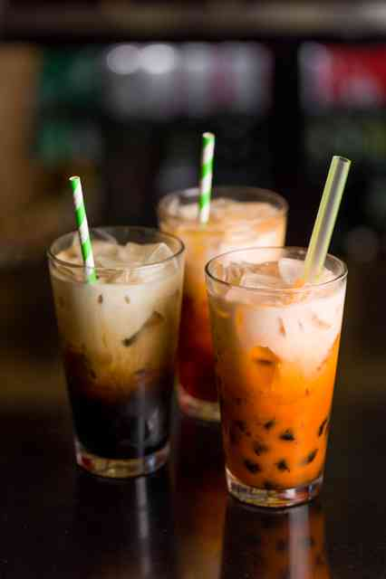boba and thai tea