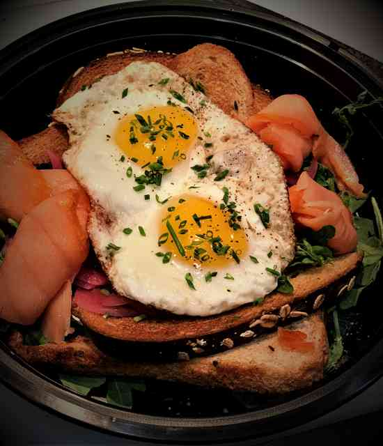 brunch salmon