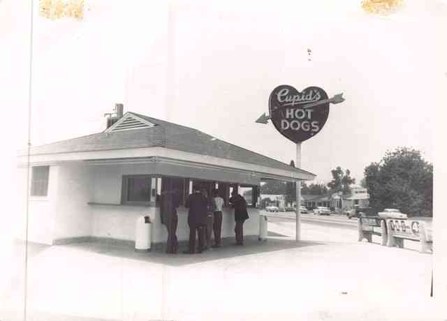 Vintage photo of Van Nuys location