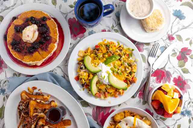 mexican scramble and other foods