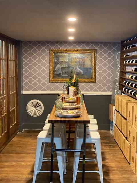 Private dining for up to 8