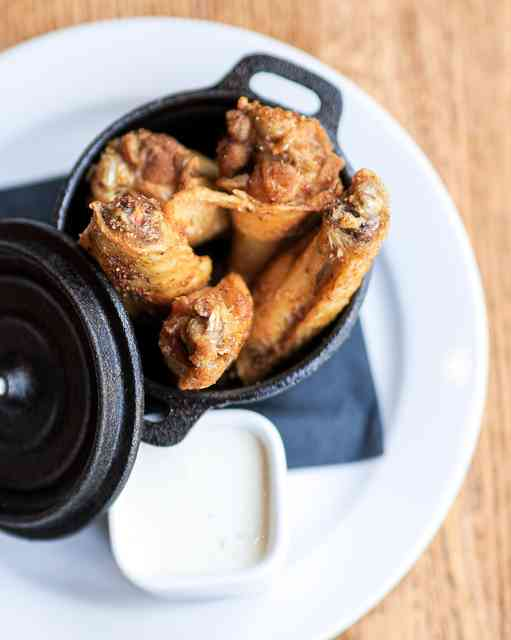 Honey bourbon wings